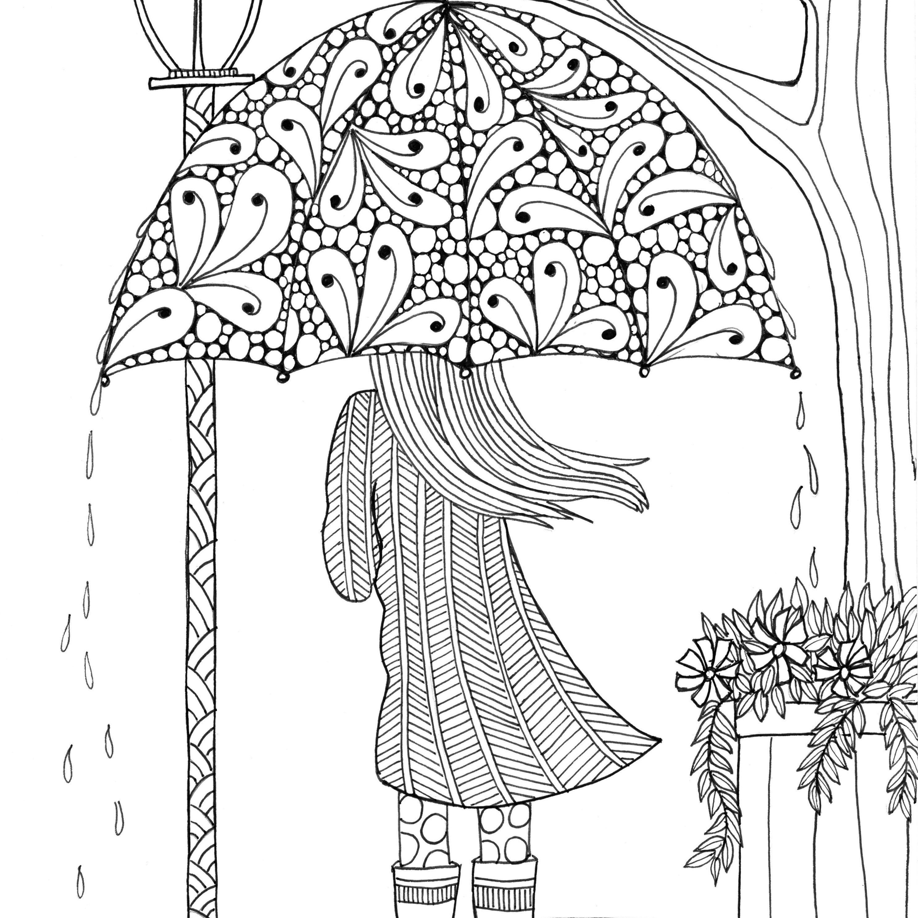 Christmas Colouring Pages Mindfulness With Free Printable Coloring For Adults