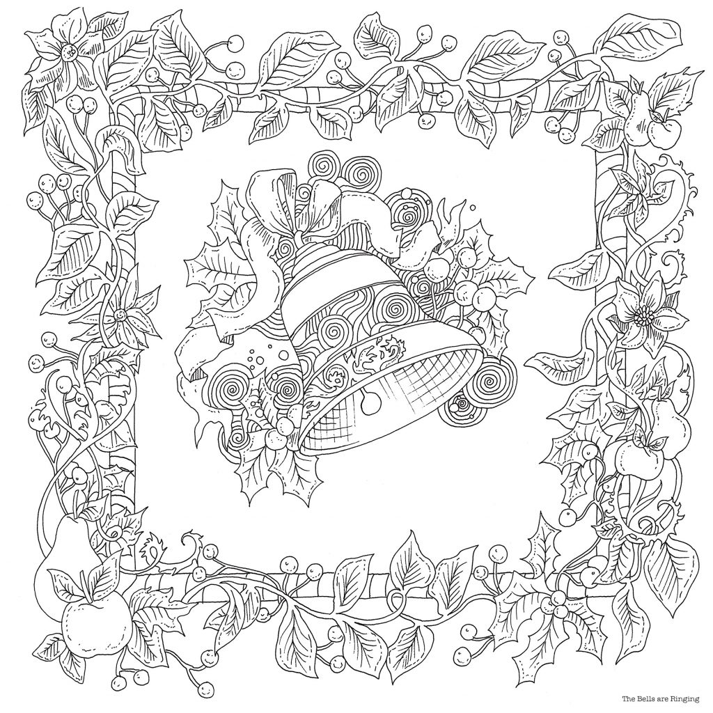 Christmas Colouring Pages Mindfulness With The Magical A Book Books