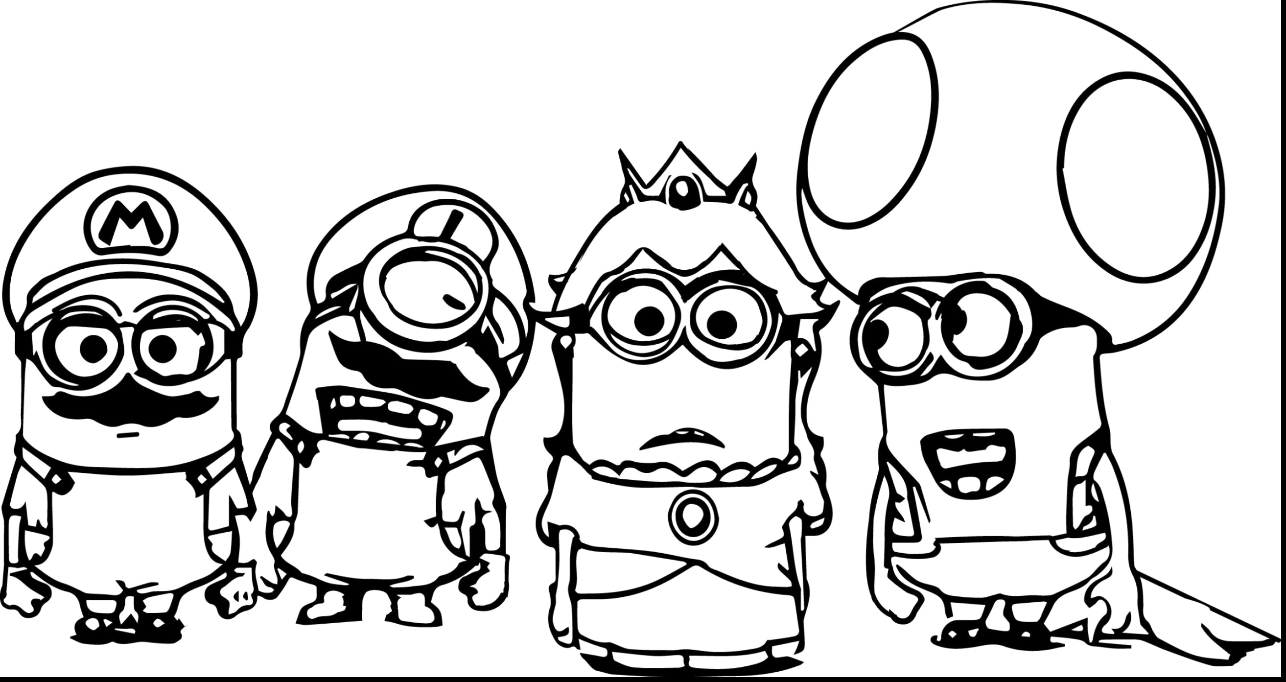 Christmas Colouring Pages Minions With Printable Coloring Nazly Me