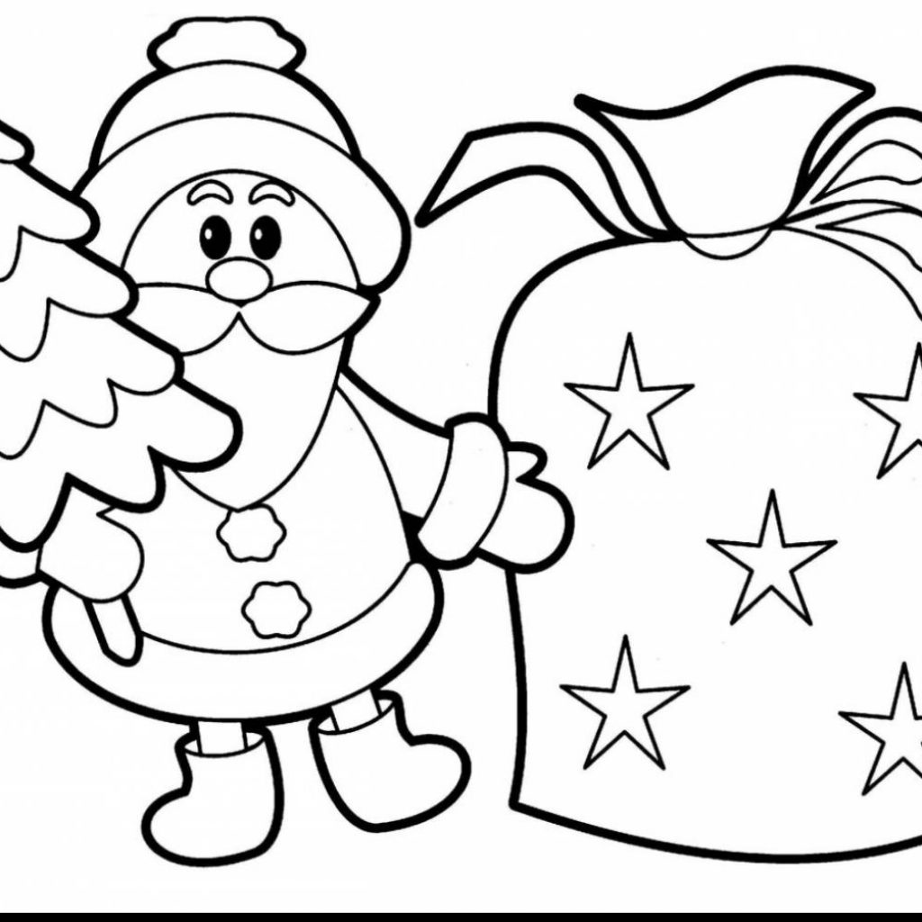 Christmas Colouring Pages To Print For Free With Xmas Coloring Kids