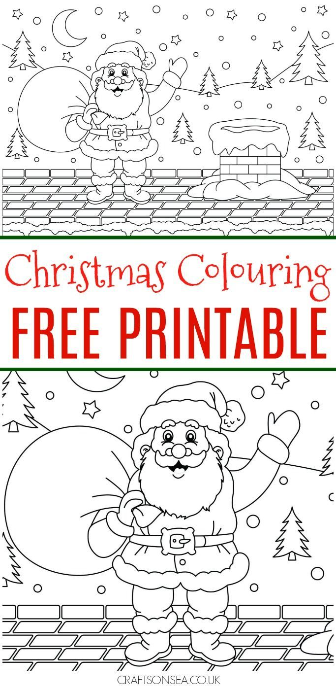 Christmas Colouring Pages Uk With Free Page Kids And Colors