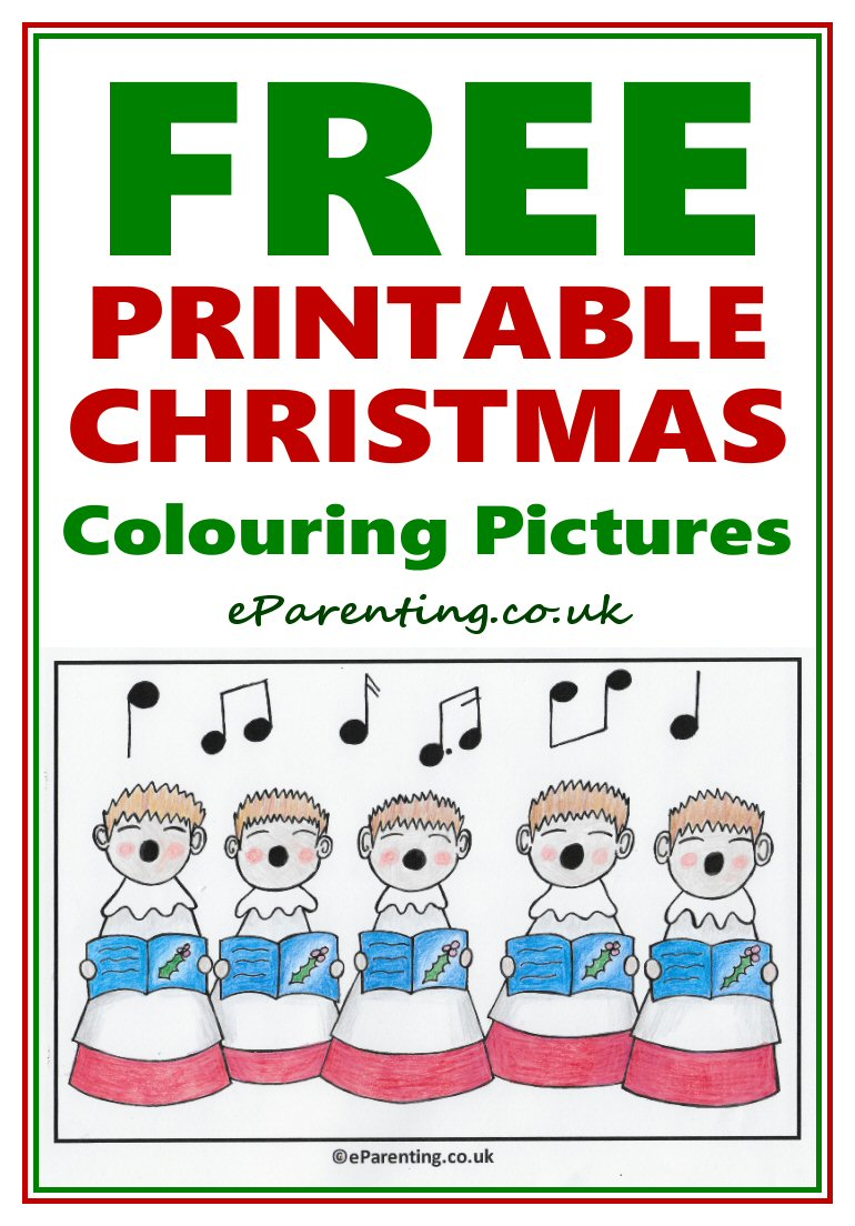 Christmas Colouring Pages Uk With Free Printable Coloring Pictures