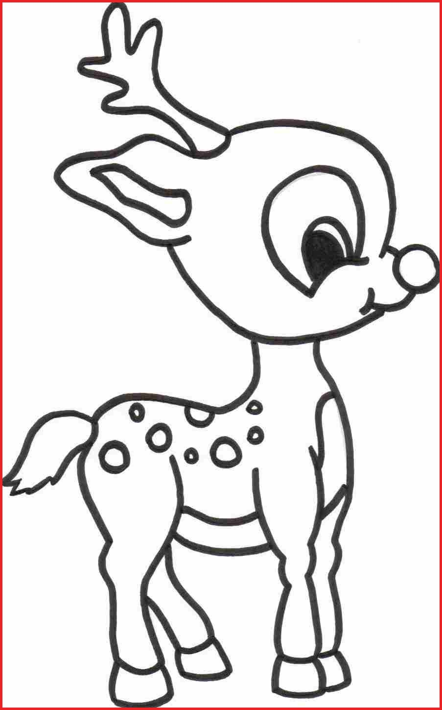 Christmas Easy Coloring Pages With Drawings 17169