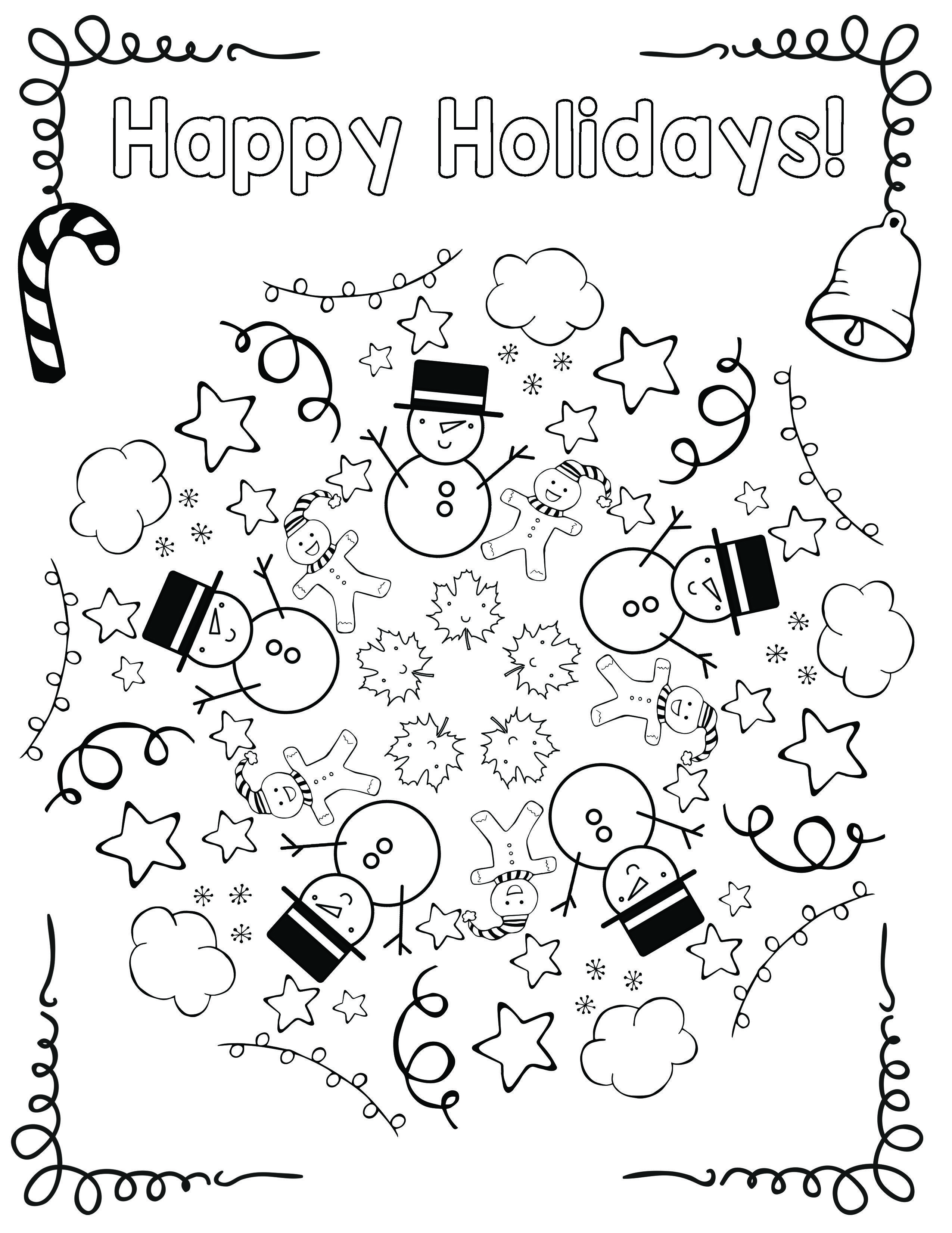 Christmas Educational Coloring Pages With Free Holiday Mandala Cool School Ideas