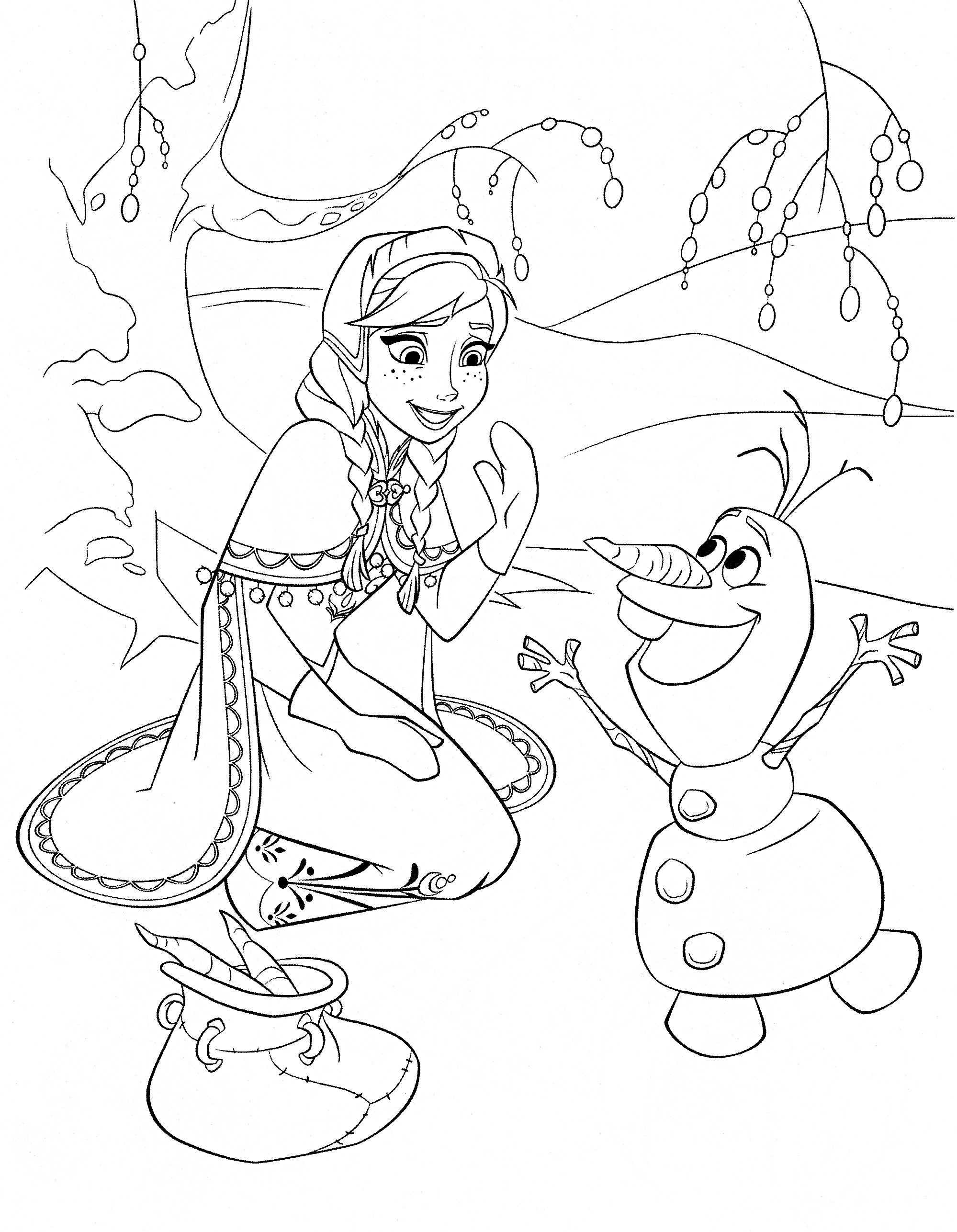 Christmas Elsa Coloring With Fresh Princess Pages Collection Printable Sheet
