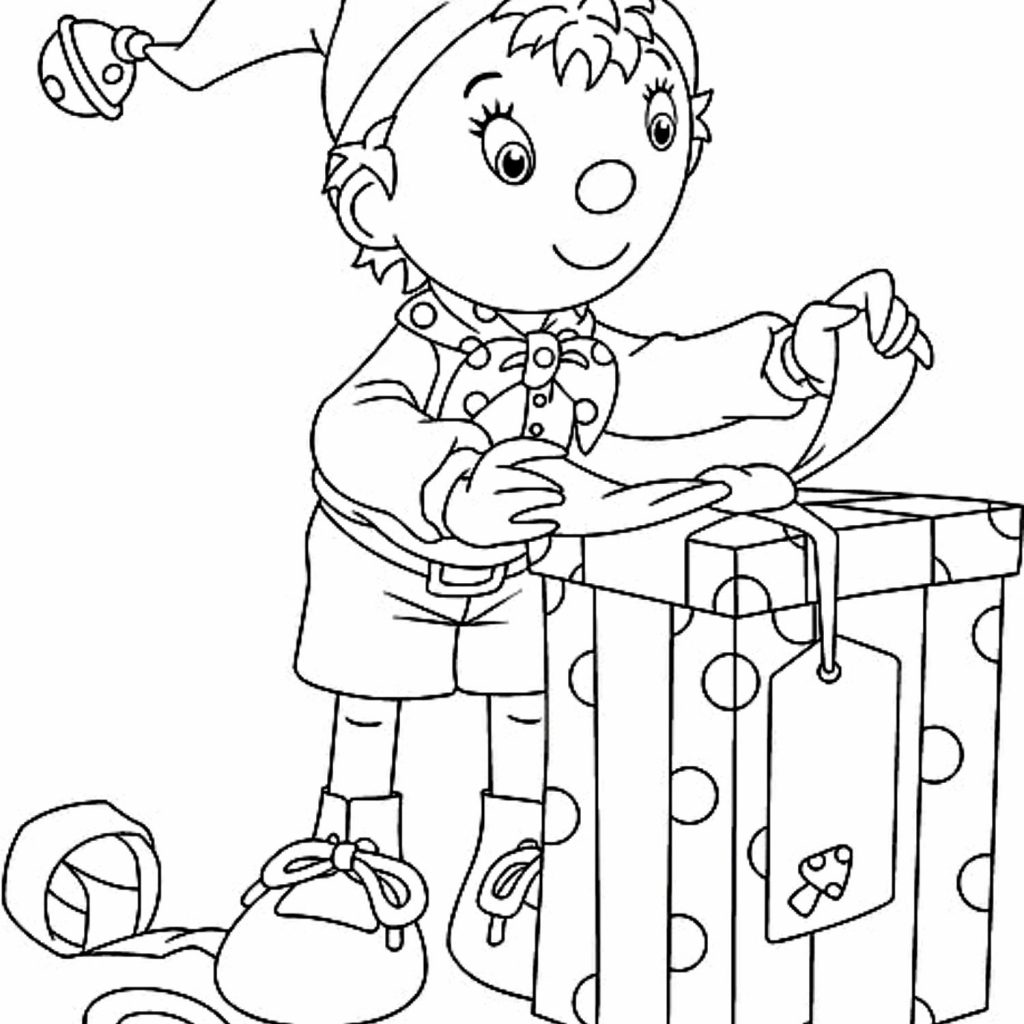 Christmas Elves Coloring Pages Printable With CHRISTMAS COLORING PAGE Santa Song And Free Elf