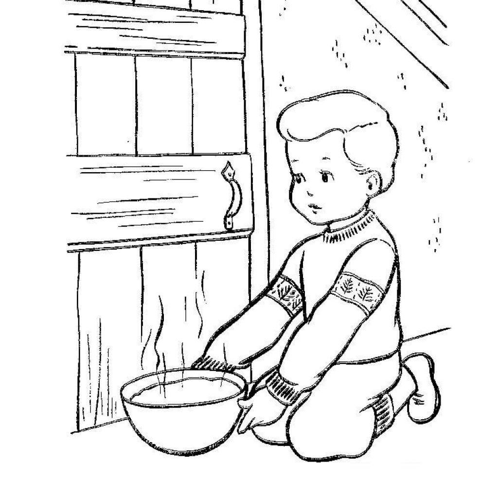 Christmas Eve Coloring Pages With In Denmark Page Free Printable