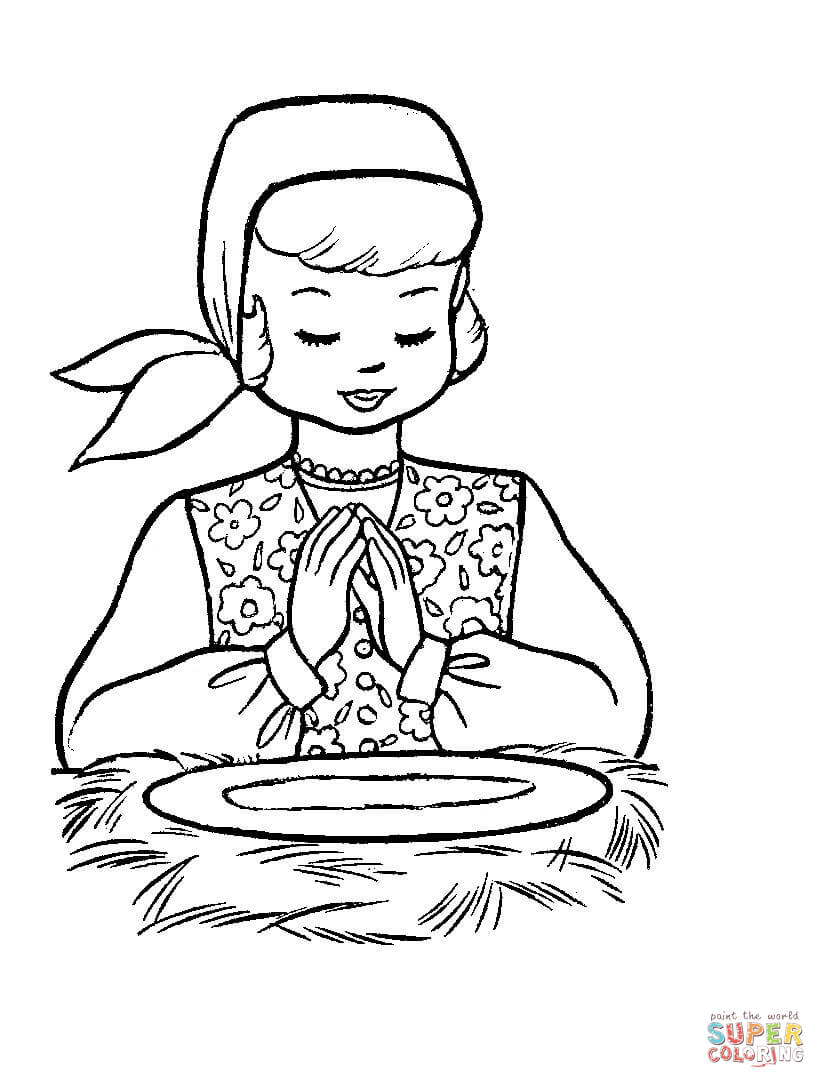 Christmas Eve Coloring Pages With In Poland Page Free Printable