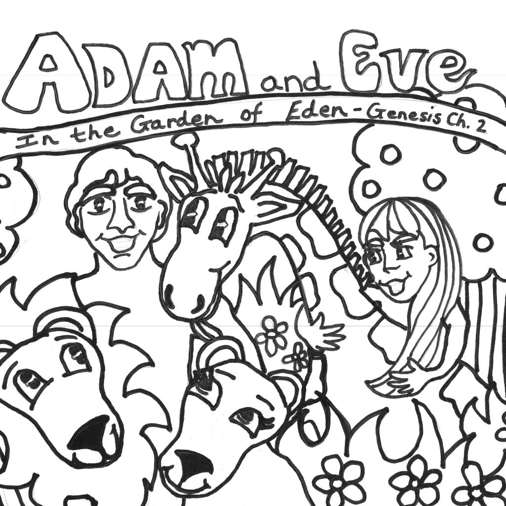 Christmas Eve Coloring Sheets With Free Printable Adam And Pages For Kids Best