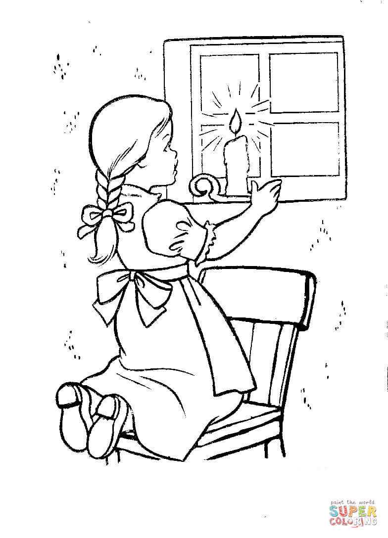 Christmas Eve Coloring With In Ireland Page Free Printable Pages