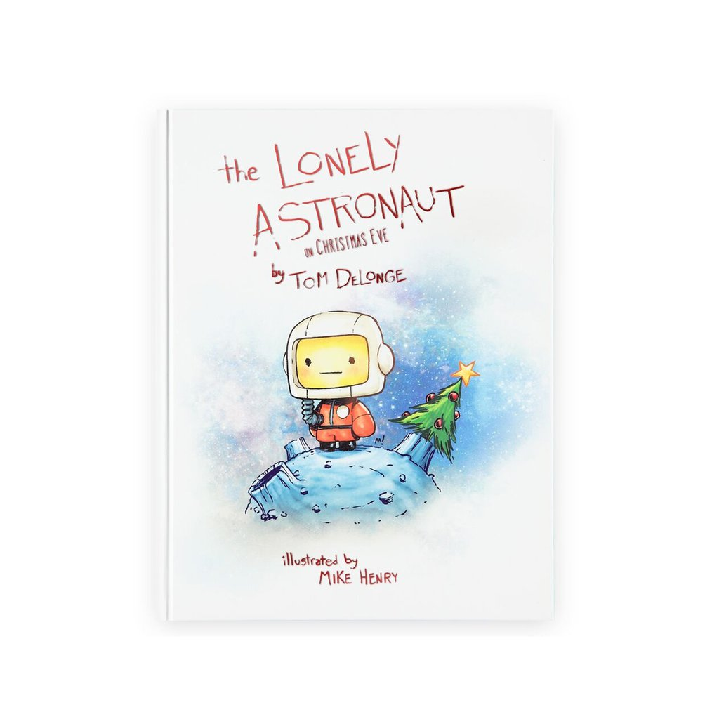 Christmas Eve Coloring With The Lonely Astronaut On 2017 Edition Book