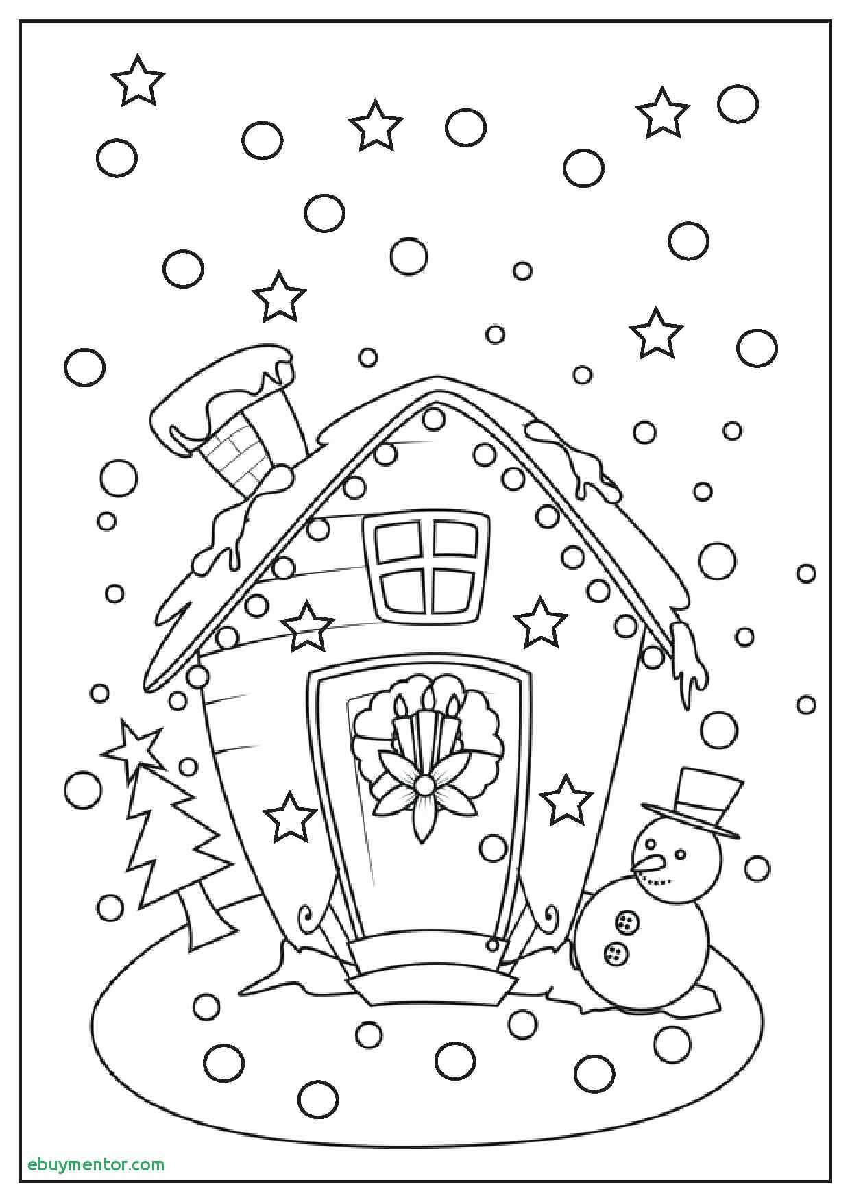 Christmas Gift Coloring Page With Gifts Pages Box