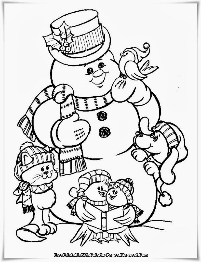 Christmas Gnome Coloring Page With Pages Free Printable
