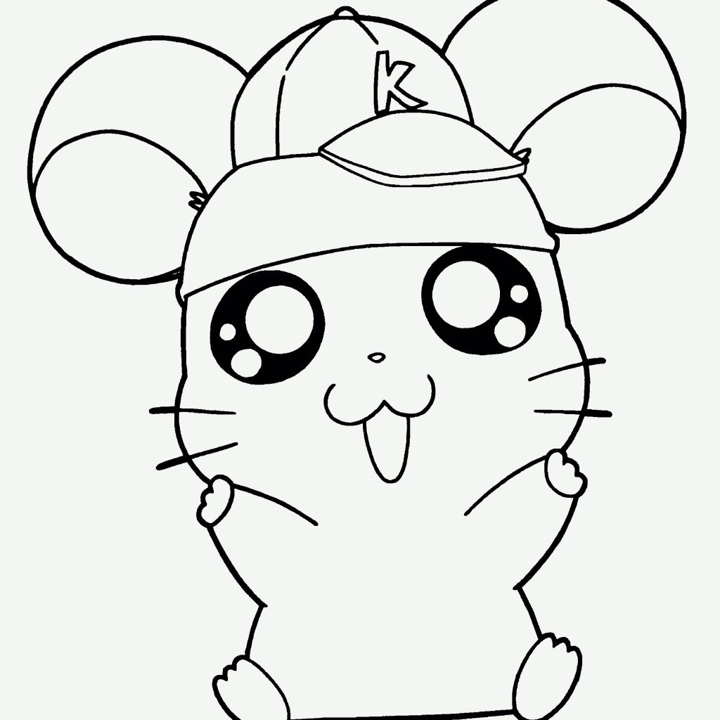 Christmas Hamster Coloring Pages With Cartoon Valid Love
