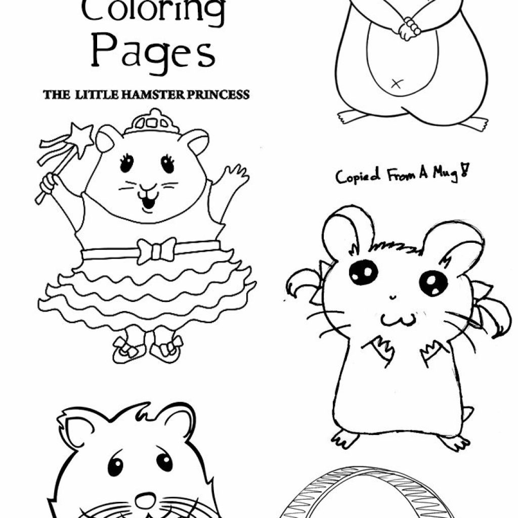 Christmas Hamster Coloring Pages With Top 25 Free Printable Online