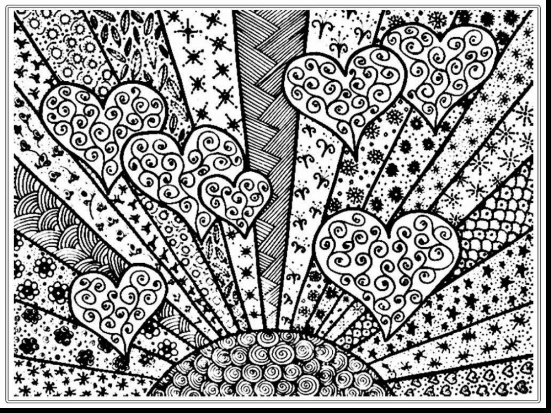 Christmas Heart Coloring Page With Free Pages Adults Napisy Me