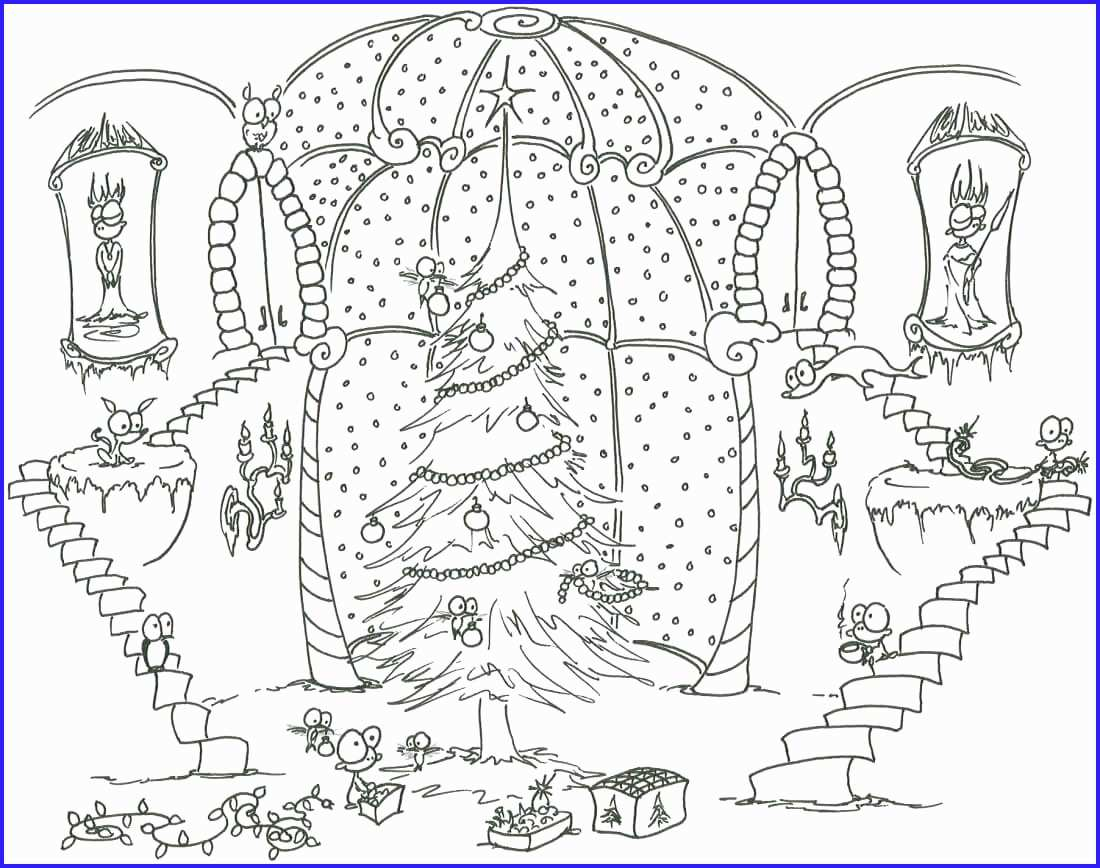 Christmas Holiday Coloring Pages With Book Astonishing