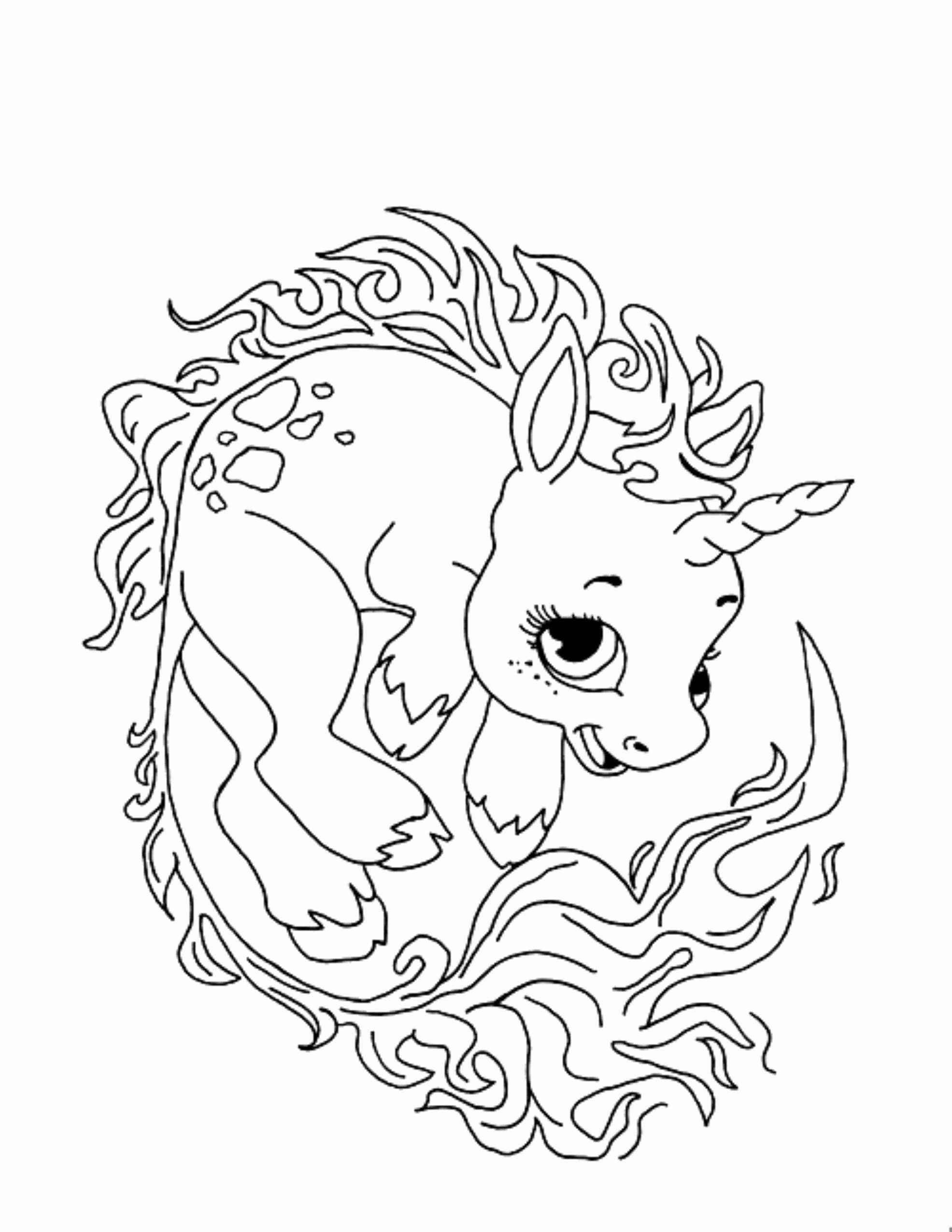 Christmas Horse Coloring Pages With Fresh