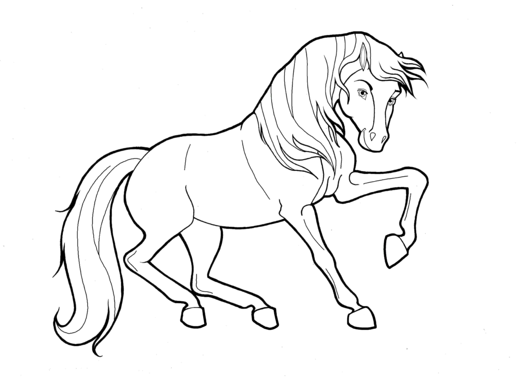 Christmas Horse Coloring Pictures With Fresh Pages Codraw Co
