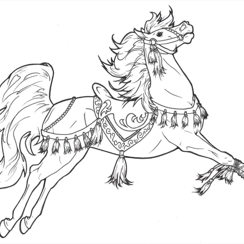 Christmas Horse Coloring Pictures With New Post Drawing Xmast Pinterest Drawn