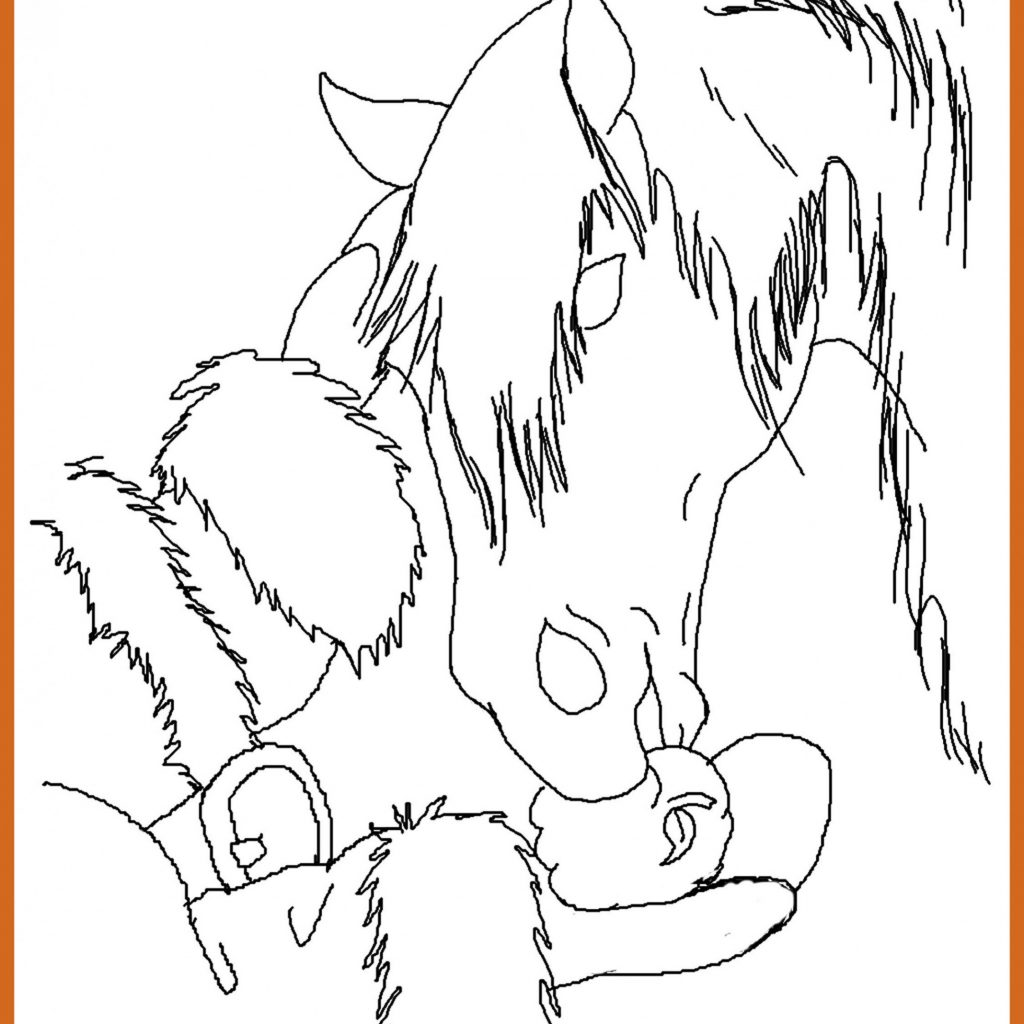 Christmas Horse Coloring Pictures With Pages 1000 Free Printable 2018
