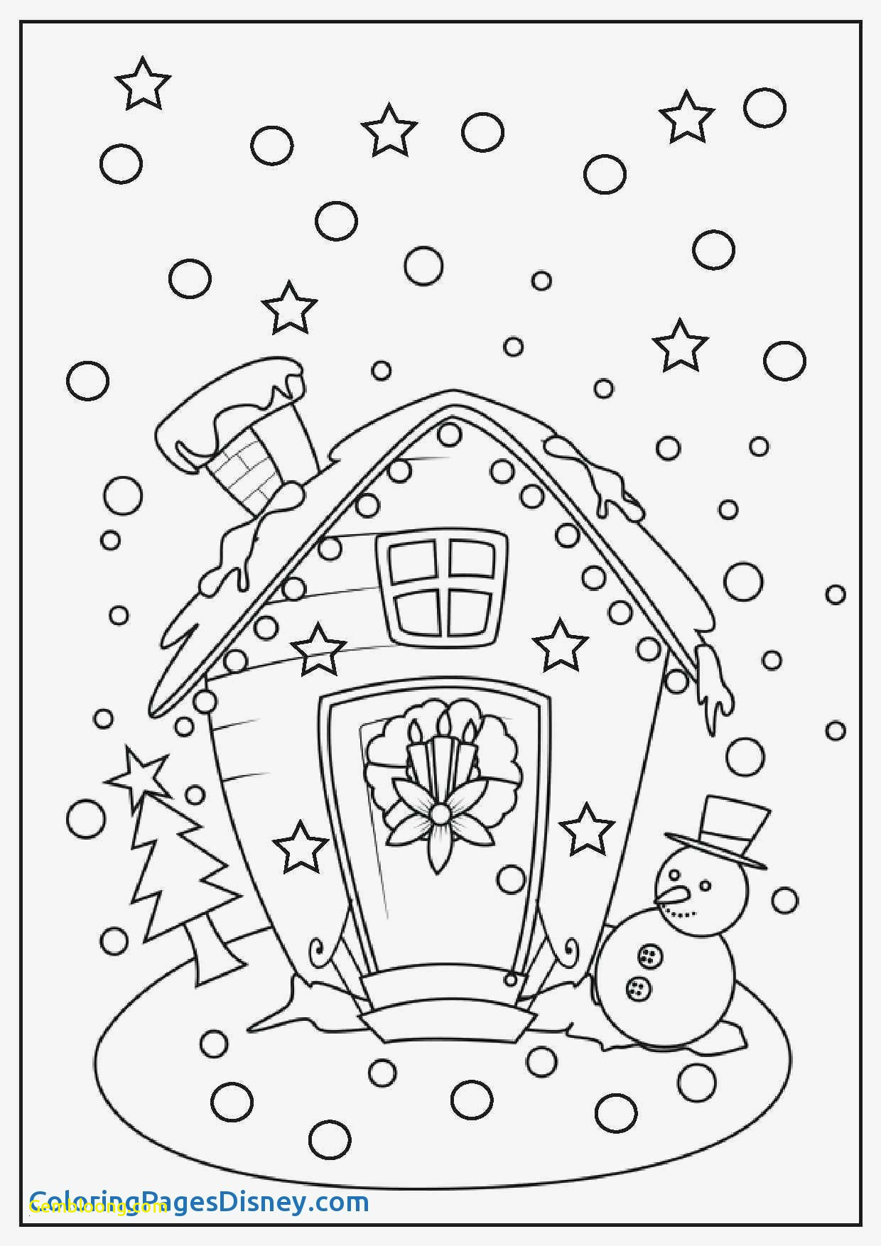 Christmas Images Coloring Book With Printable Pages For Kids Stylish