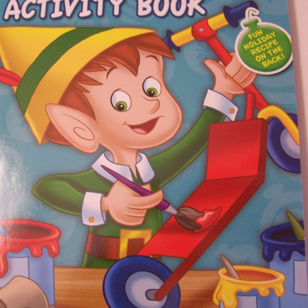 Christmas Jumbo Coloring Books With Happy Holidays 160 Page Giant And Activity Book