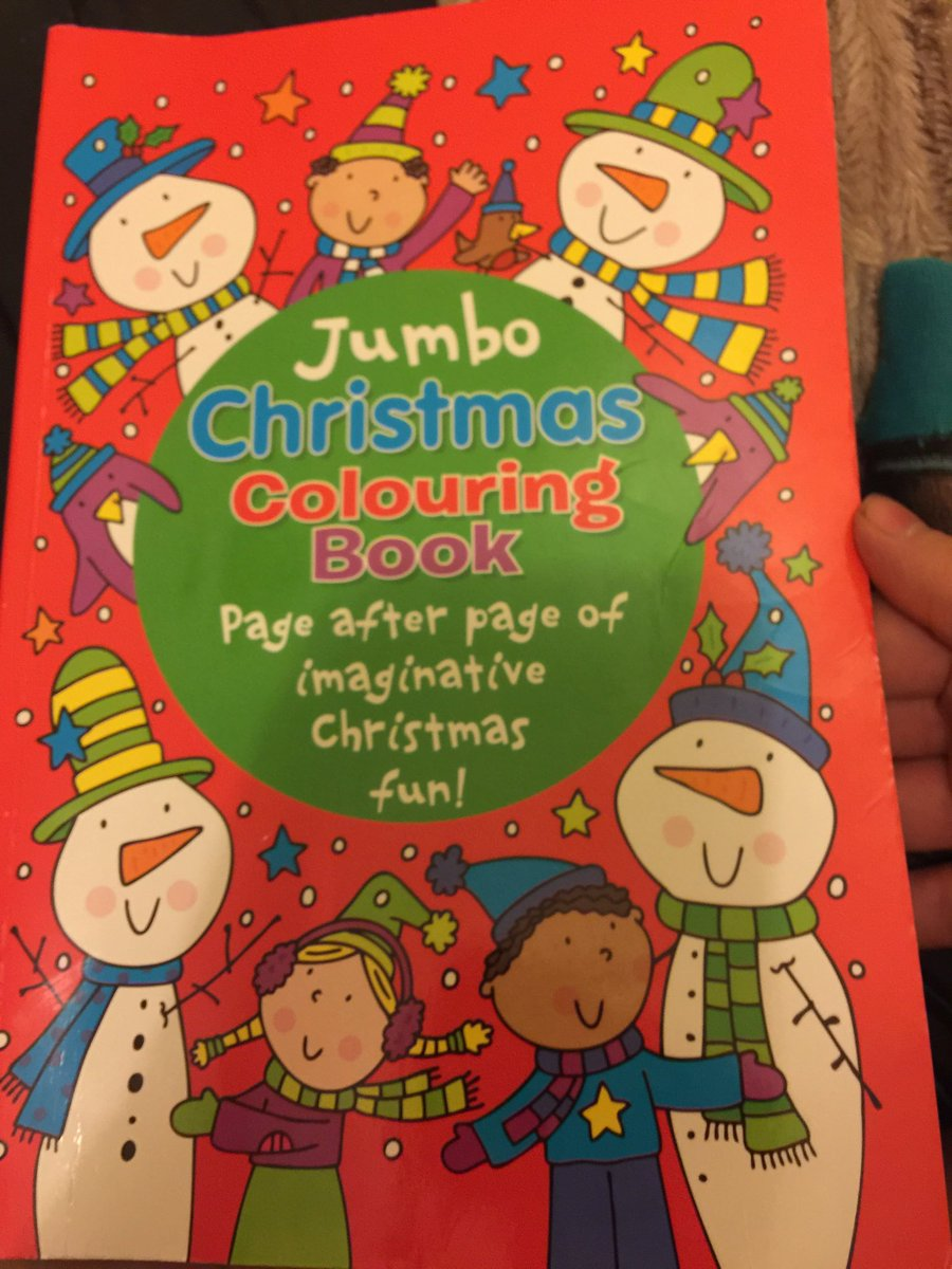 Christmas Jumbo Coloring Books With Stuart Ashen On Twitter Amazing I May Be Able To Stop Off At