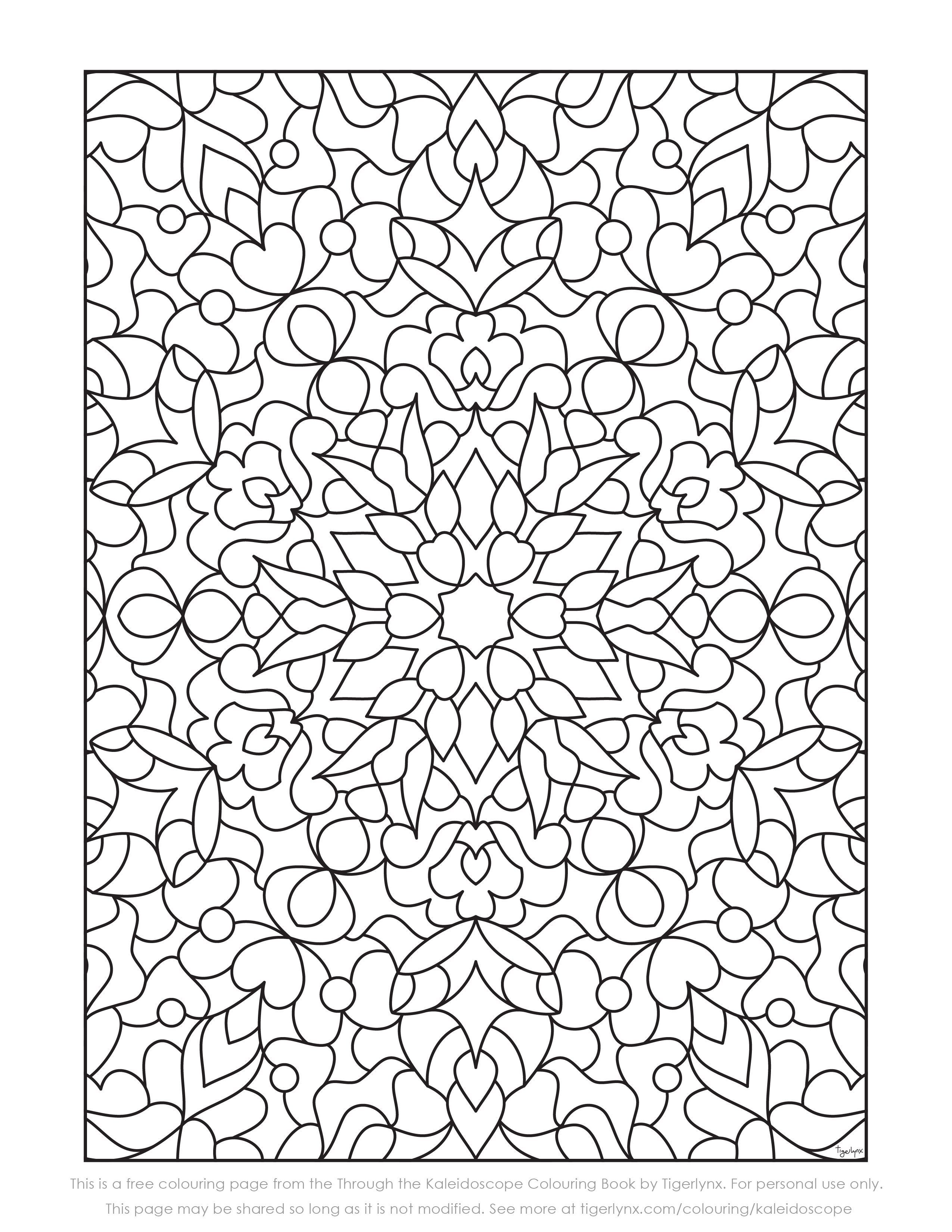 Christmas Kaleidoscope Coloring Pages With Sheet Throughout Runninggames Me