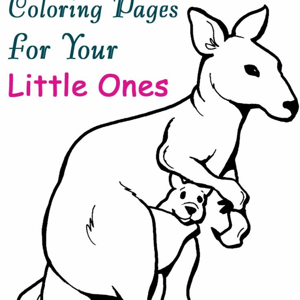 Christmas Kangaroo Coloring Page With Top 10 Free Printable Pages Online