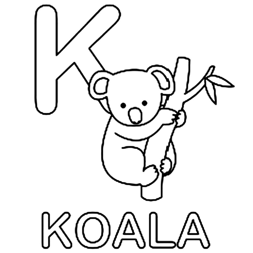 Christmas Koala Coloring Page With Drawing At GetDrawings Com Free For Personal Use