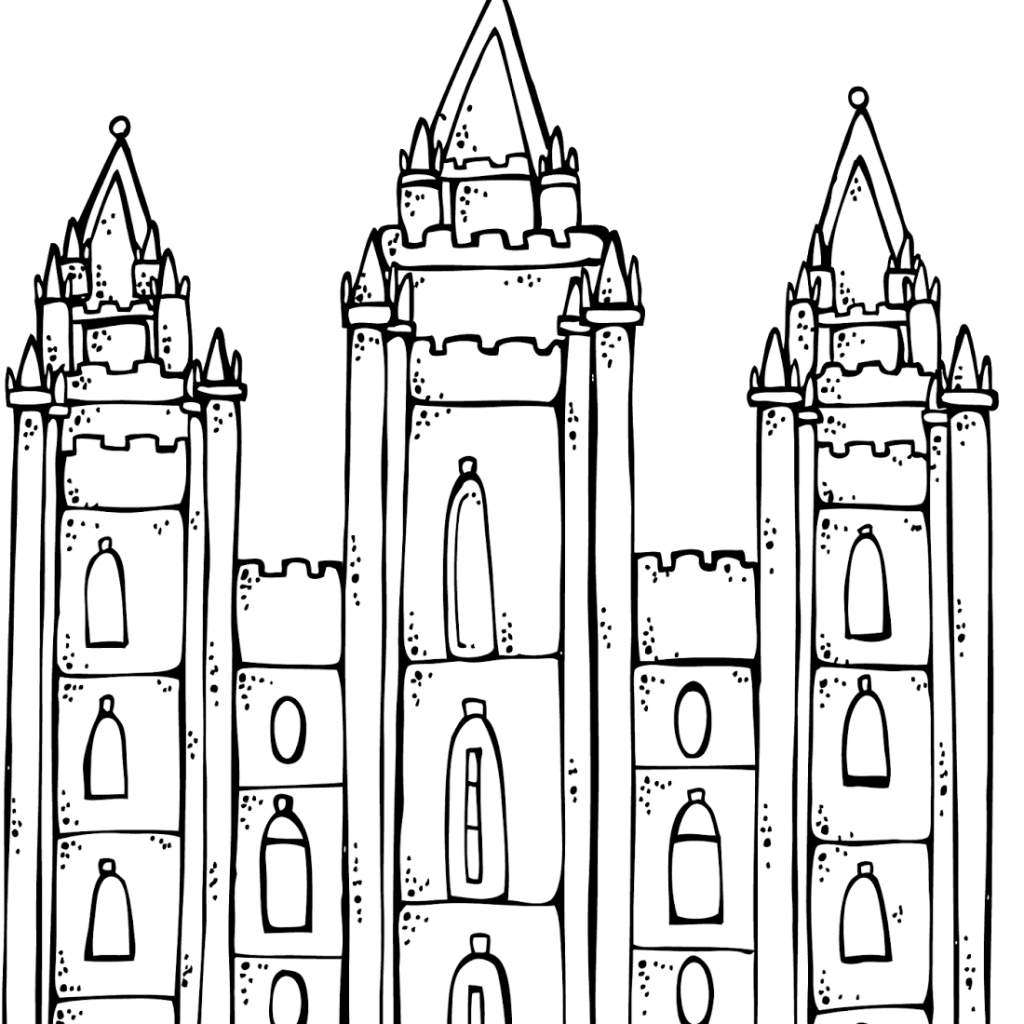 Christmas Lds Coloring Pages With LDS Dr Odd