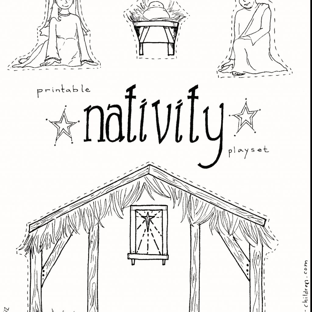 Christmas Lds Coloring Pages With Nativity Color Printable Free 900 1273 Attachment