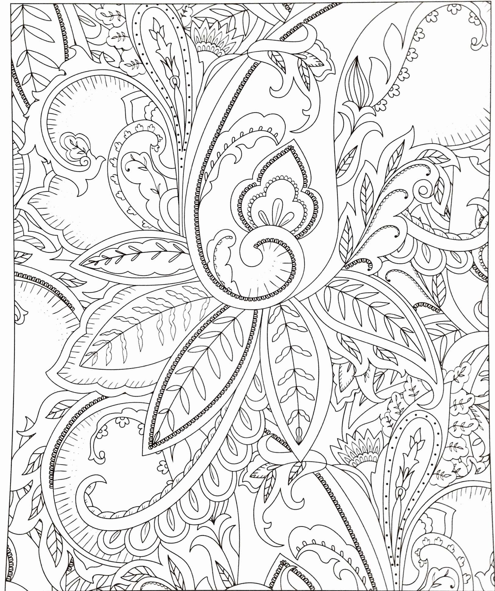 Christmas Leaves Coloring Pages With Page Of Tree For