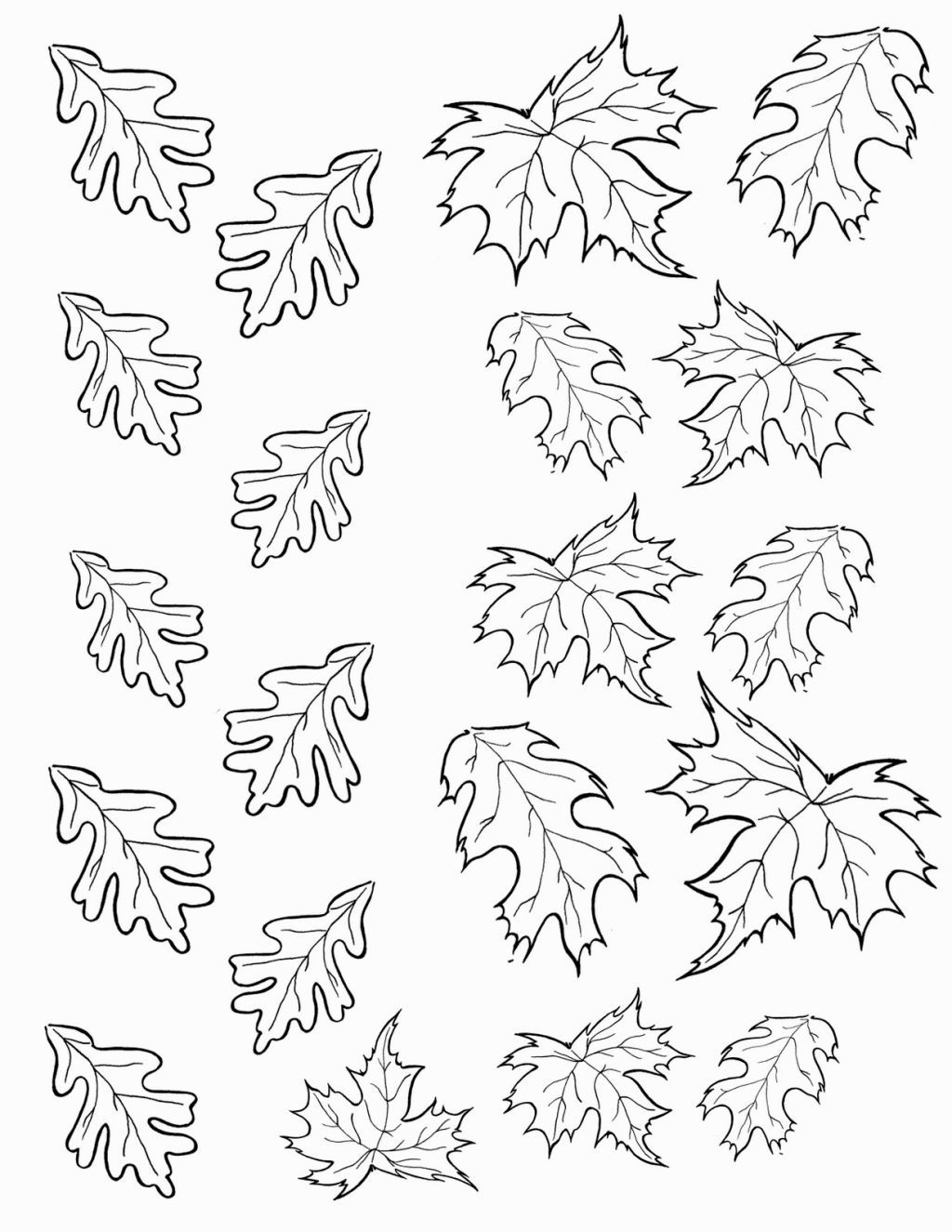 Christmas Leaves Coloring Pages With Pinterest