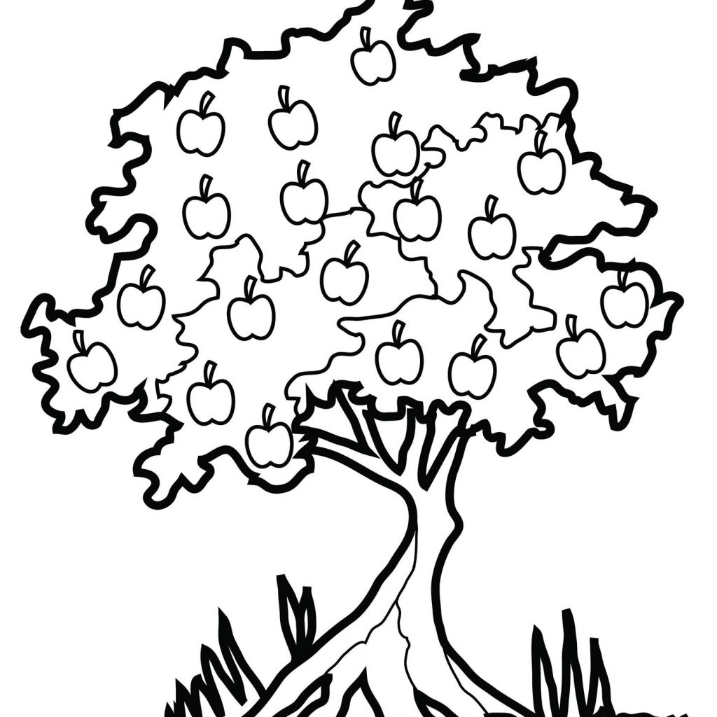Christmas Leaves Coloring Pages With Tree Dr Odd