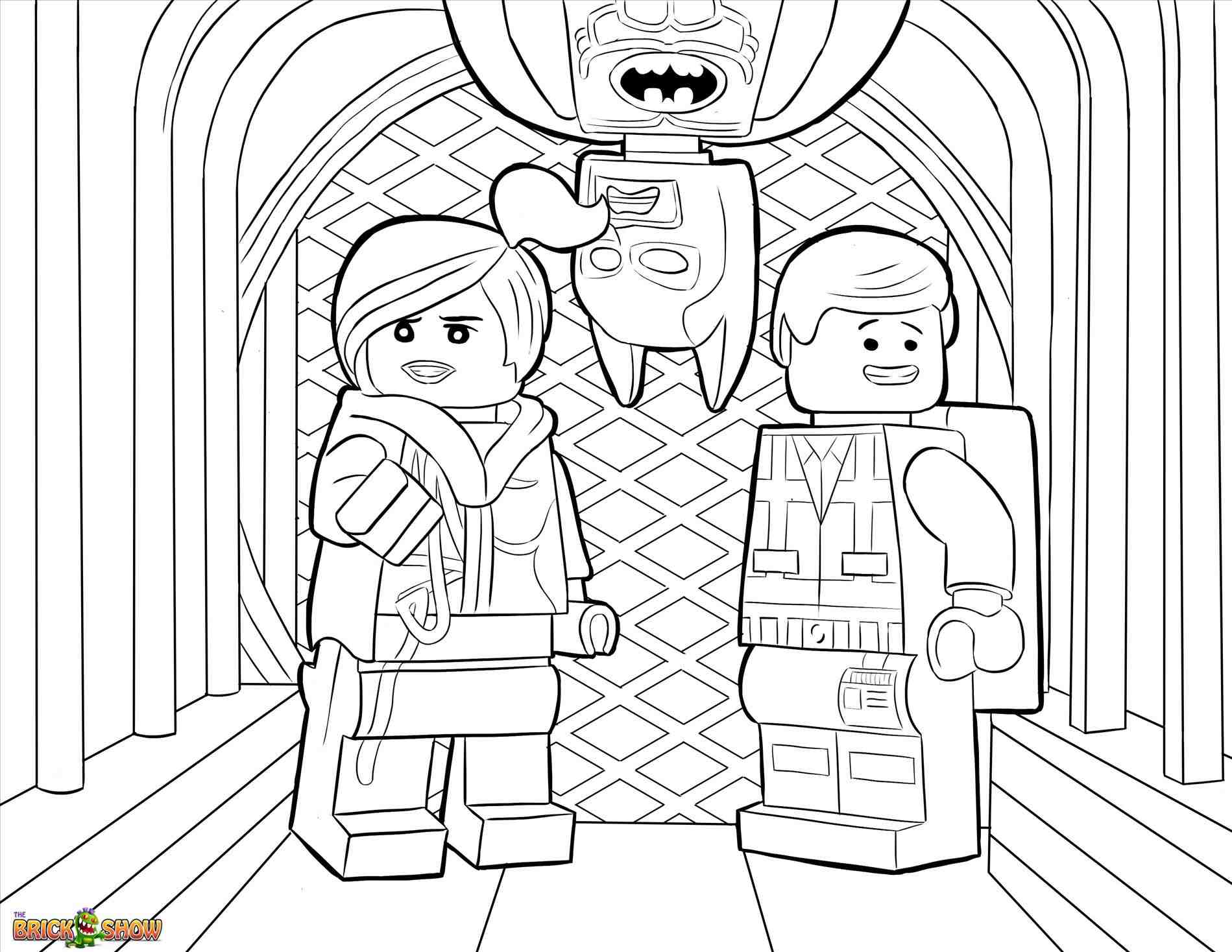 Christmas Lego Coloring Pages With About Inside Easy Nexo