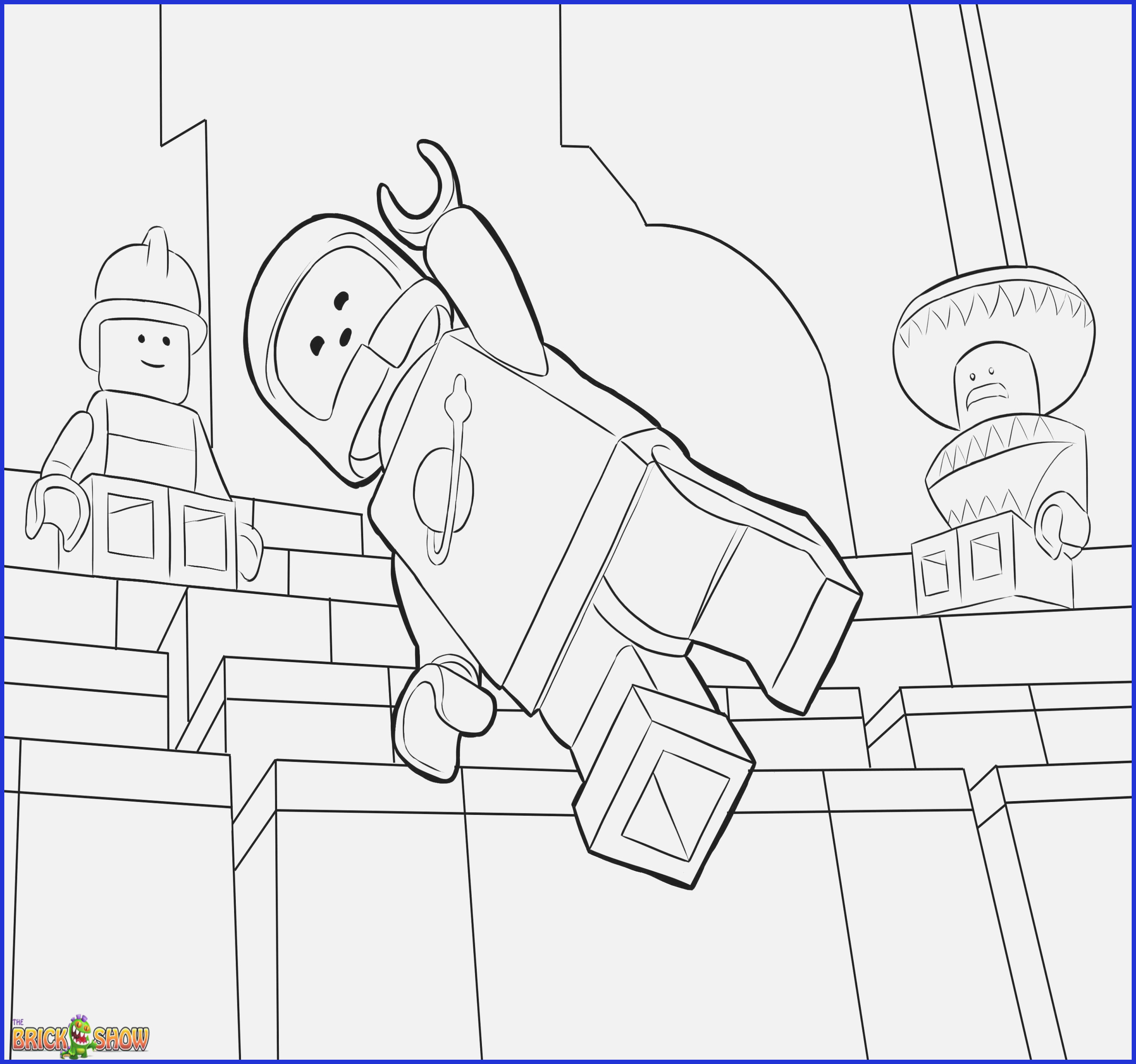 Christmas Lego Coloring Pages With Movie Free Printable