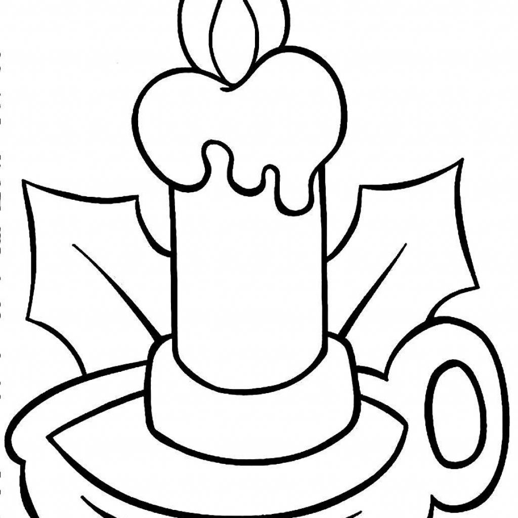 Christmas Light Bulb Coloring Pages Printable With