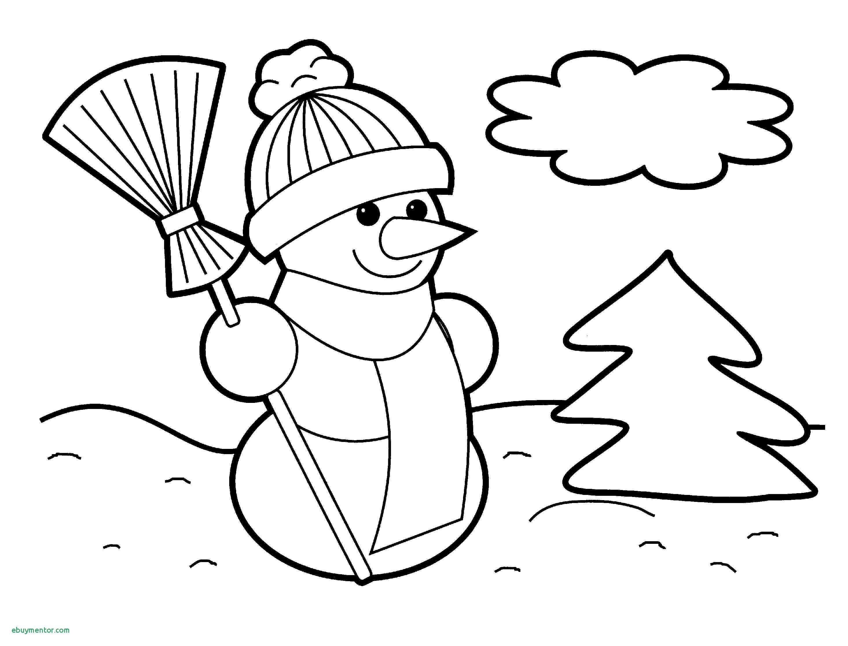 Christmas Light Bulb Coloring Pages With Tree Page Printable