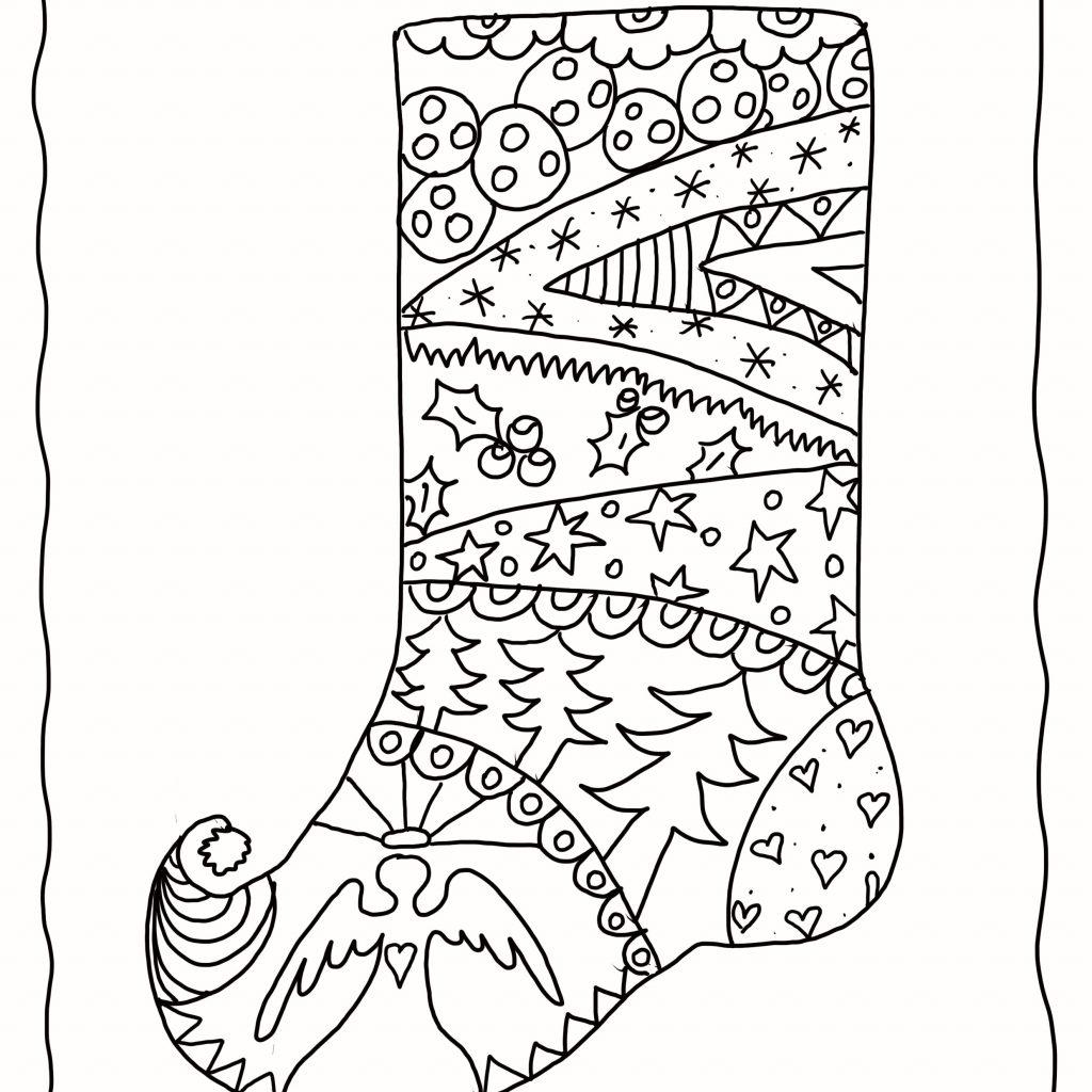 Christmas Light Coloring Sheet With Bulbs Save Printable Bulb