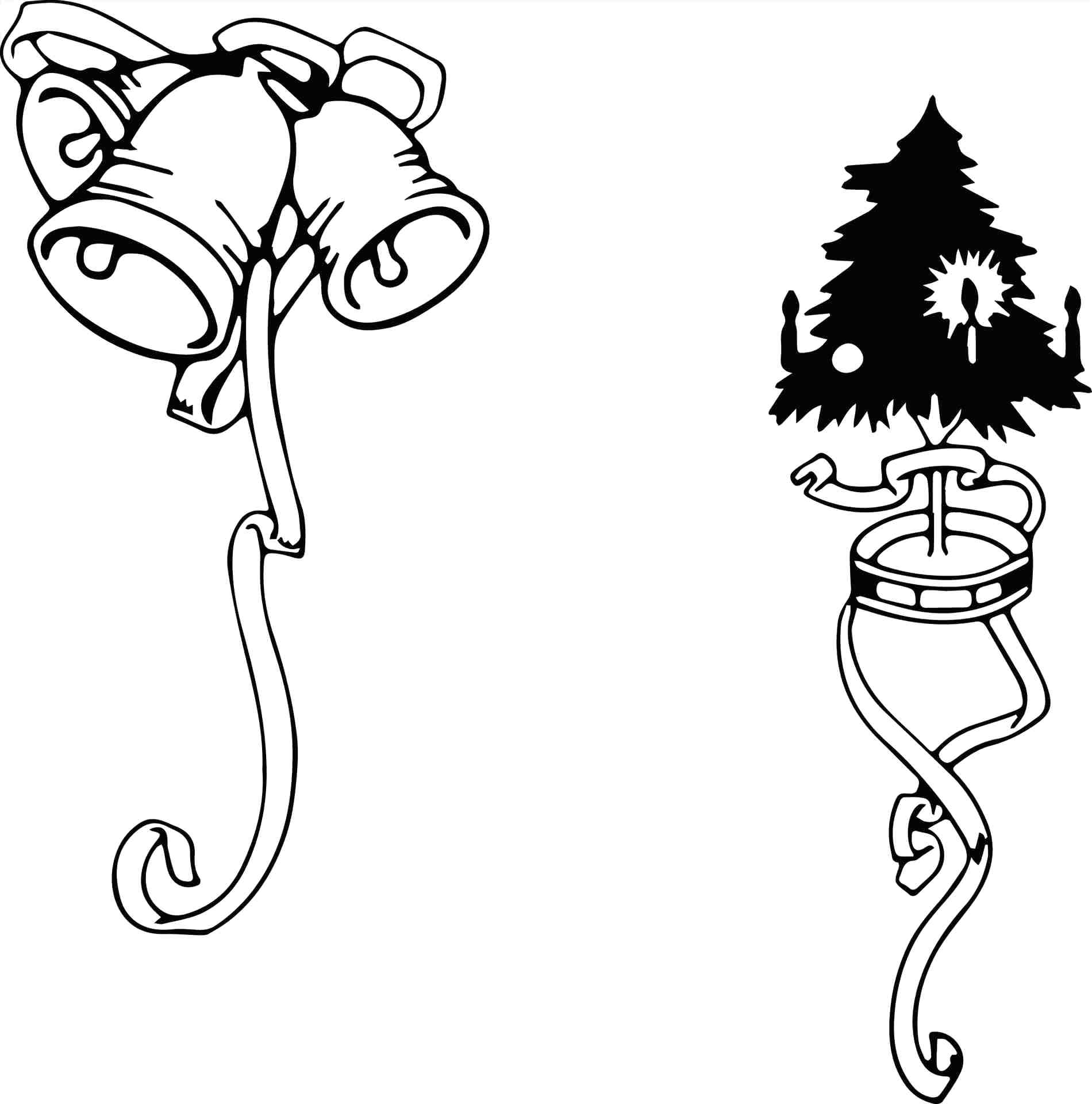 Christmas Lights Coloring Pages Printable With Light String 2022165