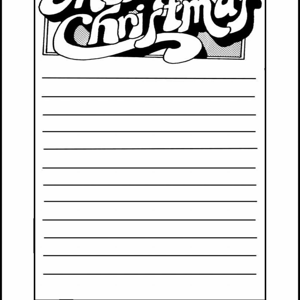 Christmas List Coloring Pages With Borders Free Teacher Worksheets