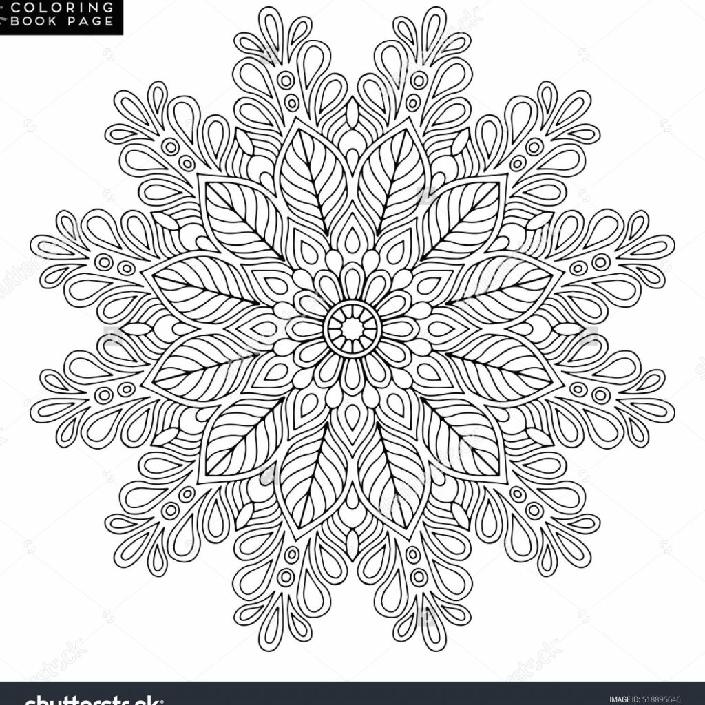 Christmas Mandalas Coloring Book With Mandala Vector Floral Flower Oriental