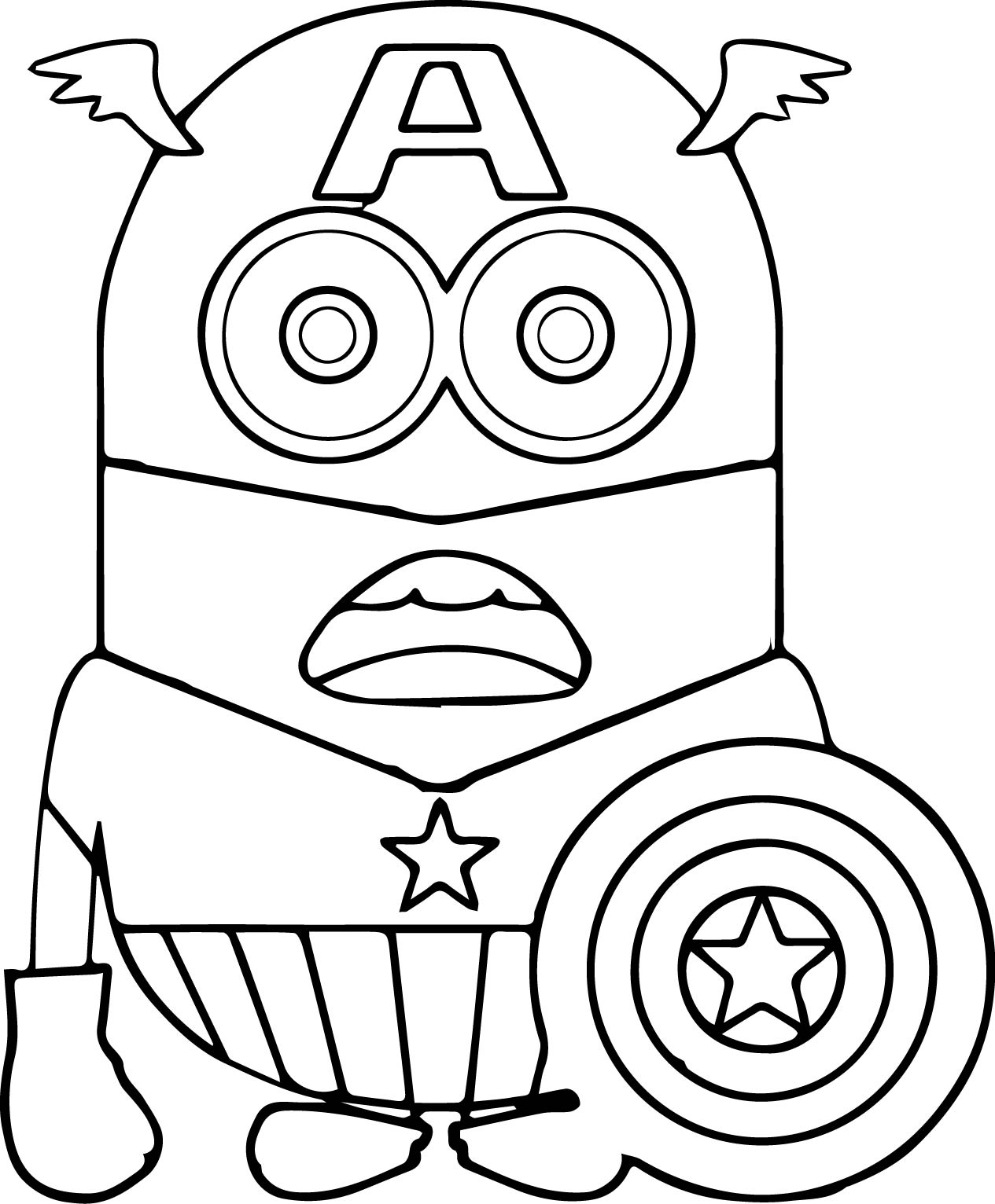 Christmas Minion Coloring Pages With Bob Download Free Books