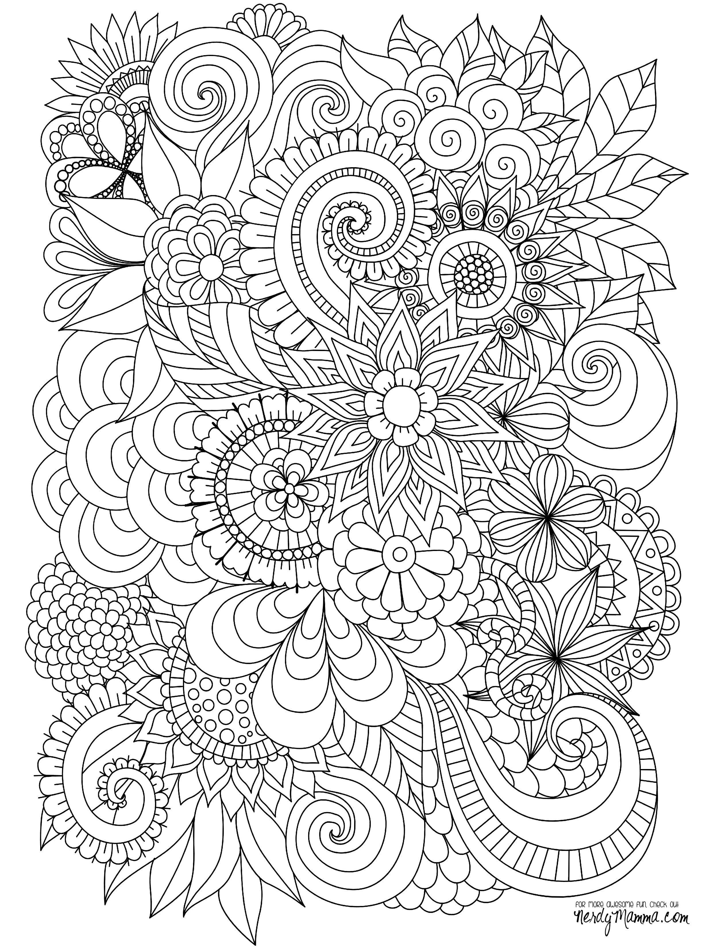 Christmas Mosaic Coloring Pages With Advanced 2018 Flower Sheets Luxury