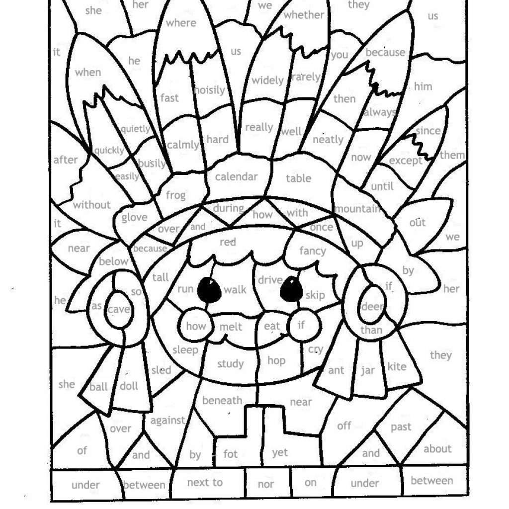 Christmas Mosaic Coloring Pages With For Parts Of Speech Paint By Part