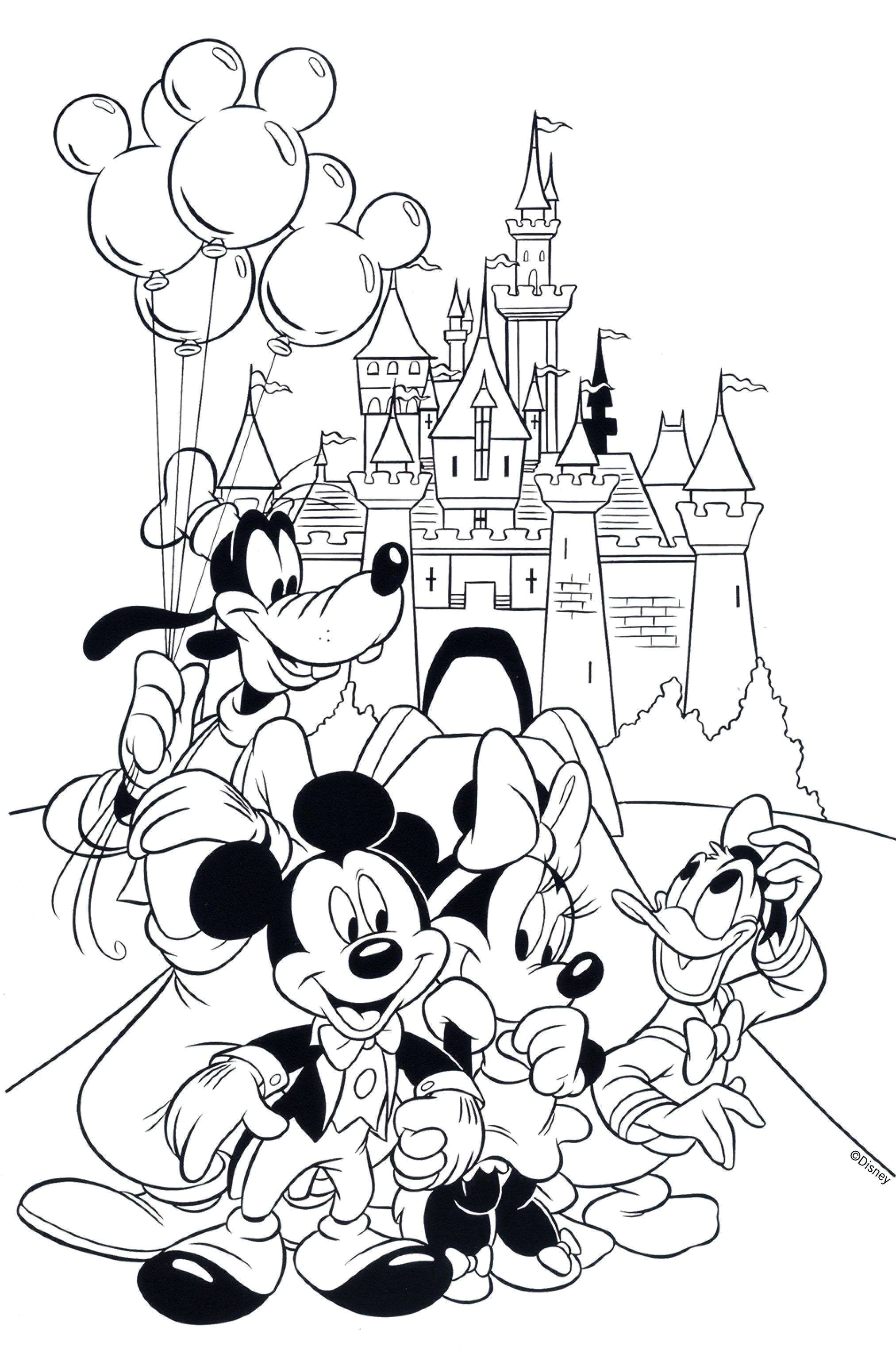 Christmas Mouse Coloring Pages With Mickey Pics To Color Elegant Minnie