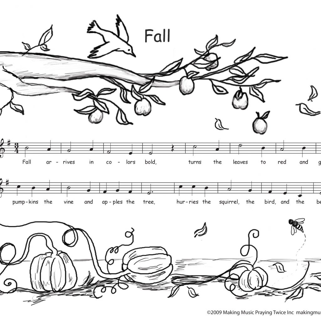 Christmas Music Coloring Pages With Of Notes For