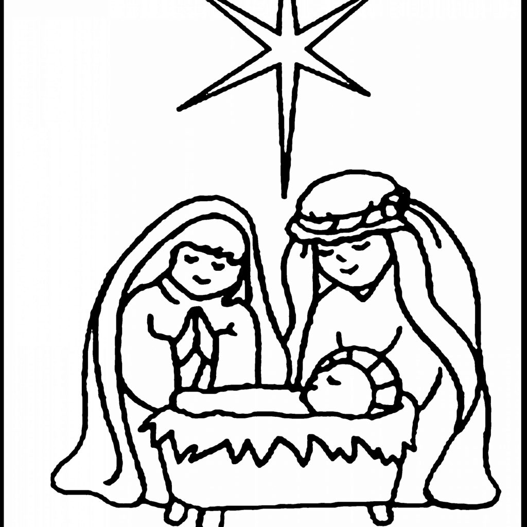 Christmas Nativity Coloring Pages For Adults With Printable Free Library